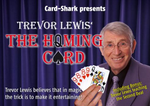 HOMMING CARD - TREVOR LEWIS