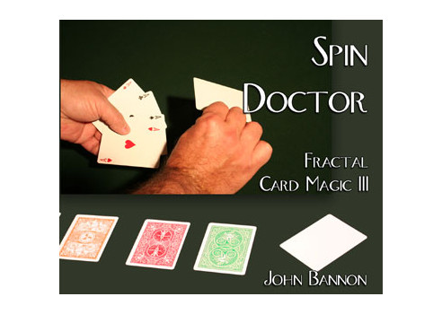 SPIN DOCTOR DVD + CARTAS - JOHN BANNON