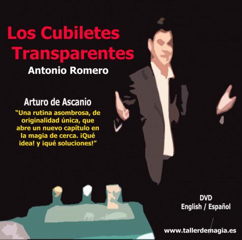 CUBILETES TRANSPARENTES - DVD -...