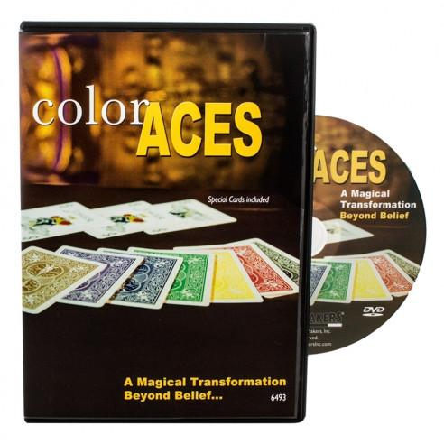 ASES DE COLOR (DVD + GIMMICKS)