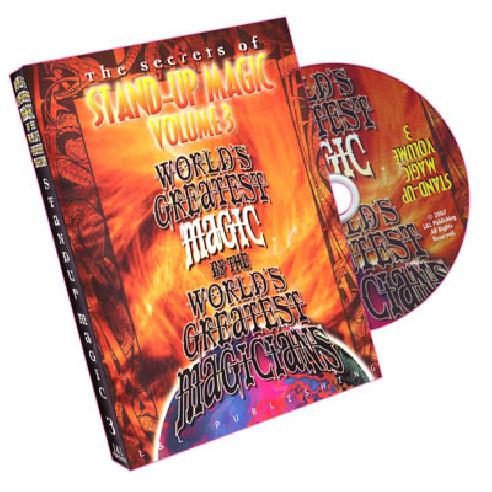 STAND-UP MAGIC DVD 3
