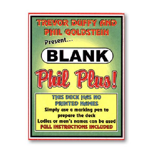 BLANK PHIL PLUS - TREVOR DUFFY