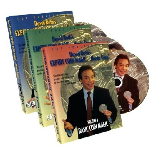 DAVID ROTH, EXPERT COINMAGIC - 3 DVD SET