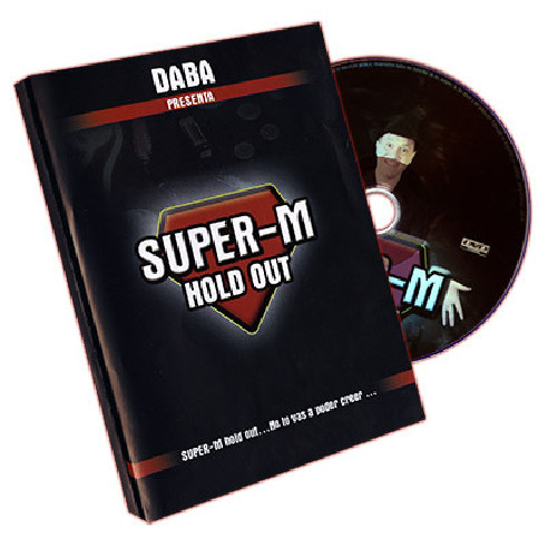 SUPER M HOLD OUT by DABA ( DVD + HOLD...