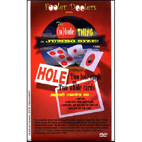 THE (W)HOLE THING - CARTAS+DVD