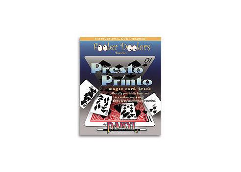 PRESTO PRINTO (CARTAS + DVD)  - DARYL