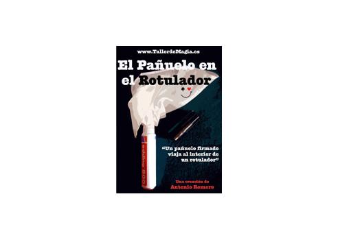 PAÑUELO EN EL ROTULADOR - ANTONIO ROMERO