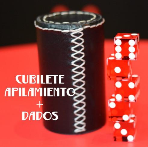 CUBILETE APILAMIENTO + DADOS (hilo...